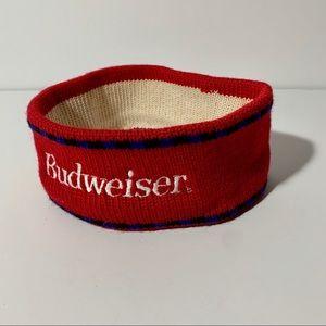 Vintage Budweiser ski ear warmer headband